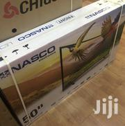 "Nasco 50"" Inches Curved Fhd Digital Satellite LED TV 
