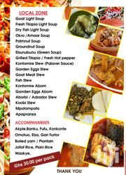 Foods Zone Delivery Services Local Foods Zone | Party, Catering & Event Services for sale in Greater Accra, Adabraka