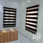 Black Zebra Window Curtains Blinds   Home Accessories for sale in Greater Accra, Tema Metropolitan