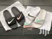 Nike Velcro QS Slides Swoosh @ GHC40 | Shoes for sale in Greater Accra, Kokomlemle