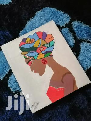 African Woman Art Painting