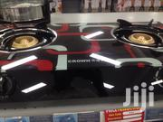 Glass Table Top Gas Stove 2 Burner 3D | Kitchen Appliances for sale in Greater Accra, Adabraka