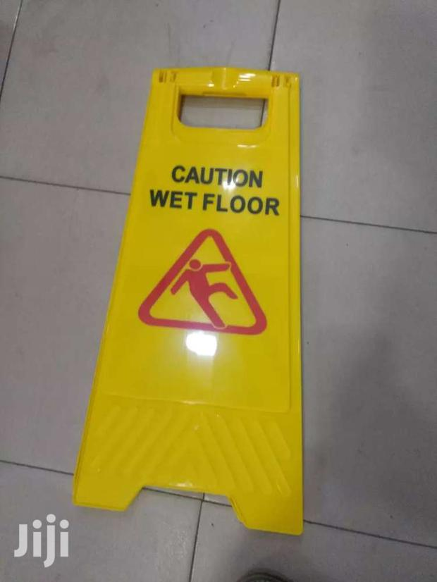Safety Caution Board