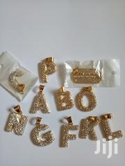 FREE DELIVERY SERVICE! PROMO!!Quality Alphabet Pendant With Ice. | Jewelry for sale in Greater Accra, Adenta Municipal