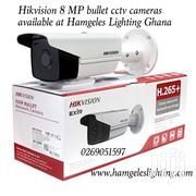 Hikvision 8MP Bullet Cctv Cameras For Sale | Cameras, Video Cameras & Accessories for sale in Greater Accra, Airport Residential Area