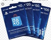 Playstation Network Gift Card(PSN Giftcard) | Video Game Consoles for sale in Greater Accra, Adenta Municipal