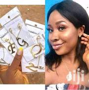 Alphabet Necklace N Earring Set | Jewelry for sale in Greater Accra, Bubuashie