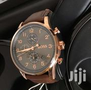 Brown Leather Hugo Boss | Watches for sale in Greater Accra, Airport Residential Area
