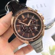 Leather Boss Watch | Watches for sale in Greater Accra, Airport Residential Area