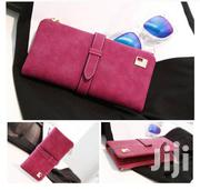 Two Fold Long Purse Suede Wallet | Bags for sale in Greater Accra, Achimota