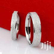 Women Band Ring Frosted Wedding, Titanium Silver | Jewelry for sale in Greater Accra, Ga South Municipal