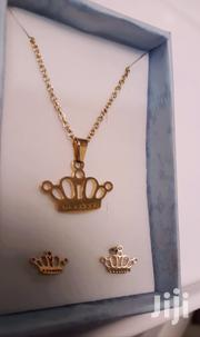 Gold Necklace With Earrings   Jewelry for sale in Greater Accra, Achimota
