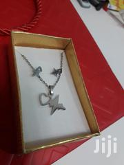Silver Necklace With Earrings | Jewelry for sale in Greater Accra, Achimota
