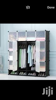 16 Cubes + Shoe Rack Plastic Wardrobe | Furniture for sale in Greater Accra, Accra Metropolitan