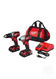 Milwaukee Drill And Impact Driver Combo Kit Cordless Power Tool | Electrical Tools for sale in Greater Accra, Teshie-Nungua Estates