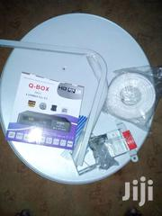 Q Box Decoder + Dish, Cable And Installation | TV & DVD Equipment for sale in Eastern Region, Asuogyaman