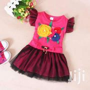 Flower Gauzy Dress | Children's Clothing for sale in Greater Accra, Dansoman