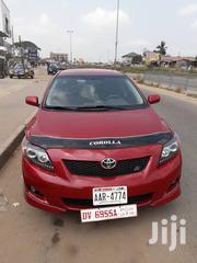 New Toyota Corolla 2009 1.8 Advanced Red | Cars for sale in Greater Accra, Accra Metropolitan