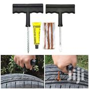T- Handle Tire Repair Kit With 3 Pcs Orange Strings Tire Plug Kit | Vehicle Parts & Accessories for sale in Eastern Region, Asuogyaman