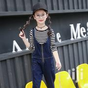 Good Quality Cotton Jeans Braces Trousers And Sweatshirt | Children's Clothing for sale in Greater Accra, Achimota