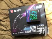 MSI MPG Z390 Gaming Pro Carbon AC & Intel Core I5 9600k Processor   Computer Hardware for sale in Greater Accra, Odorkor