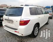 Toyota Highlander 2009 4x4 White | Cars for sale in Greater Accra, East Legon