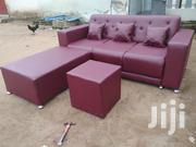 Emmanuel Leather Sofa | Furniture for sale in Greater Accra, Agbogbloshie