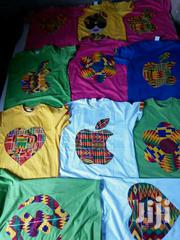 T-Shirts With Kente Designs | Clothing for sale in Greater Accra, Nungua East