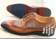 Men's Formal Lace Up Shoe-Brown | Shoes for sale in Greater Accra, Ga East Municipal