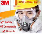 Chemical Spraying Safety Respirator Gas Mask And Protective Goggles | Safety Equipment for sale in Greater Accra, Adenta Municipal