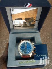 Original Jack Mack Gray Nautical Chronograph Rose Gold Brown Leather   Watches for sale in Greater Accra, East Legon (Okponglo)
