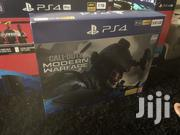 PS4 Slim 500 Gig + Call Of Duty Modern Warfare Sealed   Video Game Consoles for sale in Greater Accra, Teshie-Nungua Estates