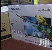 Brand New Nasco Fhd Digital Satellite LED TV 43 Inches | TV & DVD Equipment for sale in Greater Accra, Accra Metropolitan