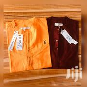 Linen Polo Short Sleeves | Clothing for sale in Greater Accra, Tema Metropolitan