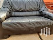 2-In - 1 Leather Sofa   Furniture for sale in Greater Accra, East Legon