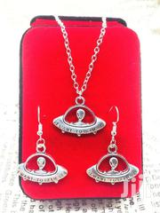 Set of Alien Pendant Necklace Earrings Charm Fashion Ornaments | Jewelry for sale in Greater Accra, Ga South Municipal