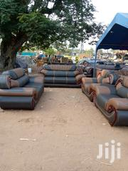 No Size Leather Sofa | Furniture for sale in Greater Accra, Tema Metropolitan