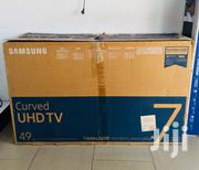 "Samsung Curved 49"" UHD 4K Smart Satellite 