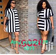 Short Dress White N Black | Clothing for sale in Greater Accra, Accra Metropolitan
