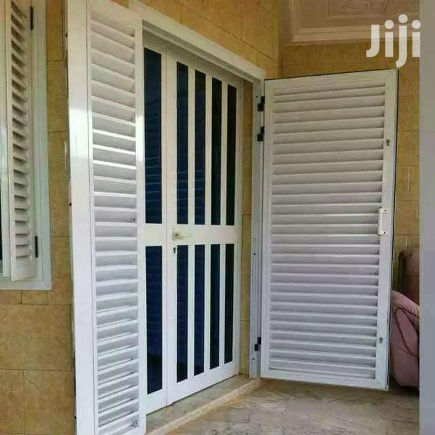 Aluminium Door With First Gate