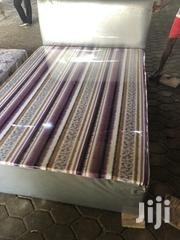 Double Leather Bed | Furniture for sale in Greater Accra, Achimota