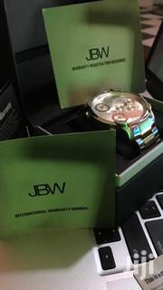 JBW Men's G4 Two-tone 18k Gold Plated Stainless Steel Diamond Watch | Watches for sale in Greater Accra, Dansoman