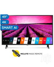 LG 49inches TV LED 4K Active HDR Quad Core Processors AI Smart IPS Display   TV & DVD Equipment for sale in Greater Accra, Asylum Down