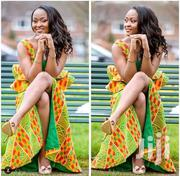 Yellow Beautiful  Kente Clothes | Clothing for sale in Greater Accra, South Labadi