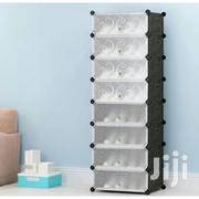 8 Cube Shoe Rack Black | Furniture for sale in Greater Accra, Tesano