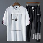Quality Short-Sleeve T-Shirt and Trousers Suit. | Clothing for sale in Greater Accra, Ashaiman Municipal
