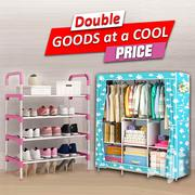 Foldable Wardrobe & Shoe Rack | Furniture for sale in Greater Accra, Akweteyman