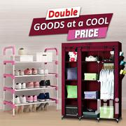 Single Foldable Wardrobe Plus Shoe Rack | Furniture for sale in Greater Accra, Akweteyman
