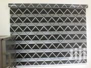 Black And White Line Zebra Blinds Curtains For Homes And Offices   Home Accessories for sale in Greater Accra, Airport Residential Area