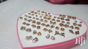 Gold 36 Pairs Of Simple Earrings